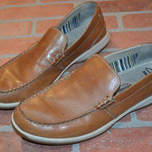 Mens Clarks Ortholite Shoes Soft Cushion11 M Tan